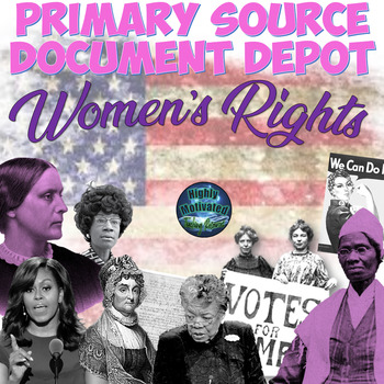 Primary Source Documents: Women's Rights with Rosa Parks Test Prep Passage
