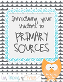 Primary Source Graphic Organizer