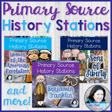 Primary Source History Stations BUNDLE