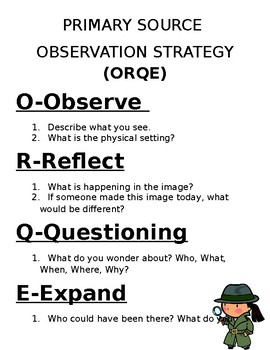 Primary Source Observation Strategy