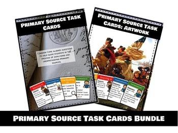 Primary Source Task Cards: Mega Bundle