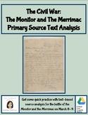 Primary Source Text Analysis: Monitor and Merrimac Telegra