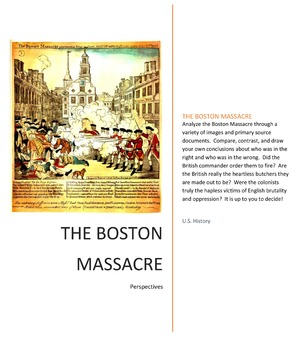 Primary Sources: Boston Massacre DBQs
