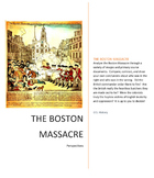 Primary Sources: Boston Massacre DBQs