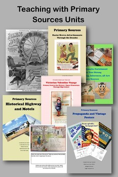 Primary Sources Collection for Upper Elementary and GATE - 195 p Discount Bundle