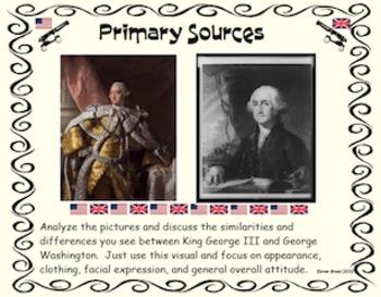 Primary Sources Packet- George vs. George