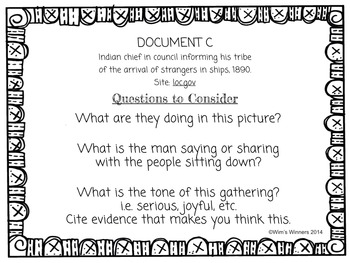 Primary Sources for the Primary Grades - Christopher Columbus