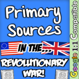 American Revolution Primary Sources! Stamp Act & More in t