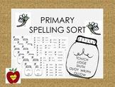 Primary Spelling Sorts (Bug Jar)