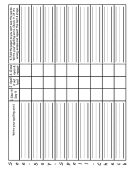 Primary Spelling Worksheets