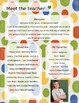 Primary Spots Meet The Teacher Template **Editable**