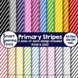Primary Stripes Digital Paper