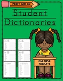 Student Dictionaries - Primary Grades