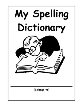 Primary Student Spelling Dictionary