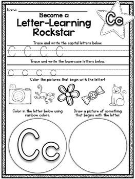 Primary Style Handwriting Activity Printables {No Prep Work}
