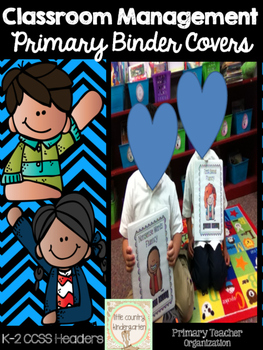 Binder Covers & Dividers: Primary Teacher Version