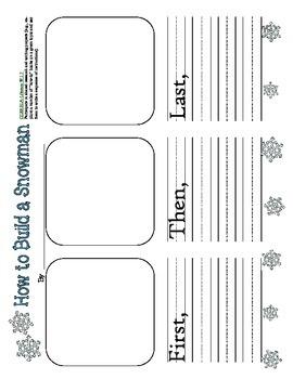 Primary Winter Writing Bundle Common Core Aligned