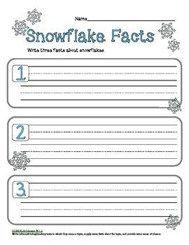 Primary Winter Writing Bundle
