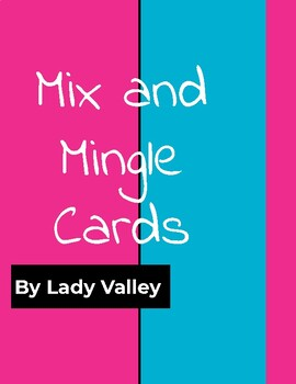 Primary Wits and Wisdom Mix and Mingle Cards