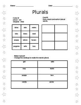 Primary Word Endings