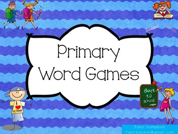 Primary Word Games