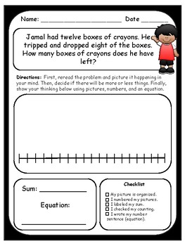 Primary Word Problems