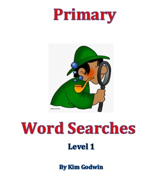 Primary Word Search Level 1
