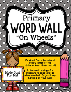 Primary Word Wall Cards