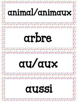 Primary Word Wall (Polka Dot Theme)
