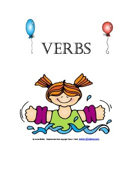 Primary Worksheet on Verbs