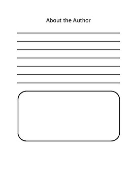Primary Writing Book Template - Full Size