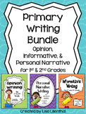 Common Core Writing Bundle #1 ~ Primary