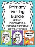 Common Core Writing Bundle #1 ~ Primary