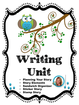 Primary Writing  Pages by Teacher's Brain