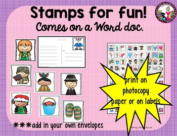 Writing Center K-2 Print and Go!