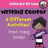 Writing Center  pre-K-2 Print and Go!