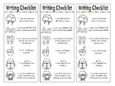 Primary Writing Checklist with Picture Prompts - Kindergar