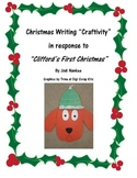 "Primary Writing ""Craftivity"" with Clifford for Christmas"