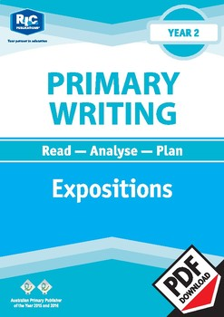 Primary Writing: Expositions – Year 2