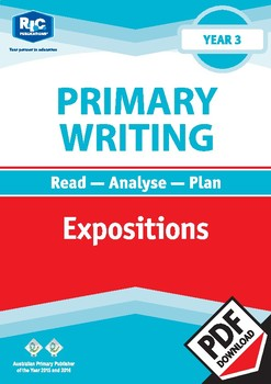 Primary Writing: Expositions – Year 3