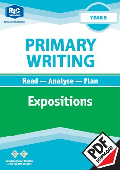 Primary Writing: Expositions – Year 5