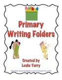 Primary Writing Folders