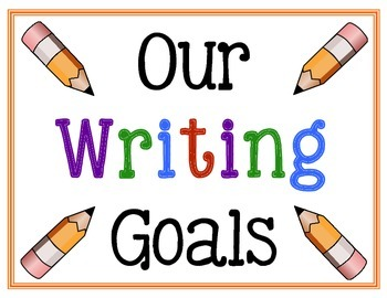 Kindergarten Writing Goals (Interactive!)