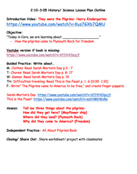 Primary Writing- How to Carve a Pumpkin 1WK Lesson Plans