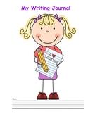 Primary Writing Journal: Boy & Girl Verson!