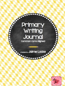Primary Writing Journal: CCSS aligned