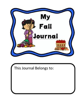Primary Writing Journal: Fall