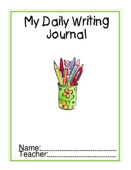 Primary Writing Journal / Folder