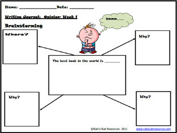 Primary Writing Journals - A Year's Worth of Writing for Specific Genres