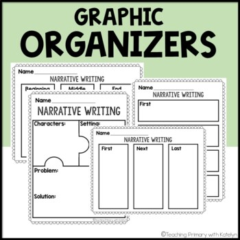 Primary Writing Paper BUNDLE w/ Inform. Narrative and Opinion Planning Sheets